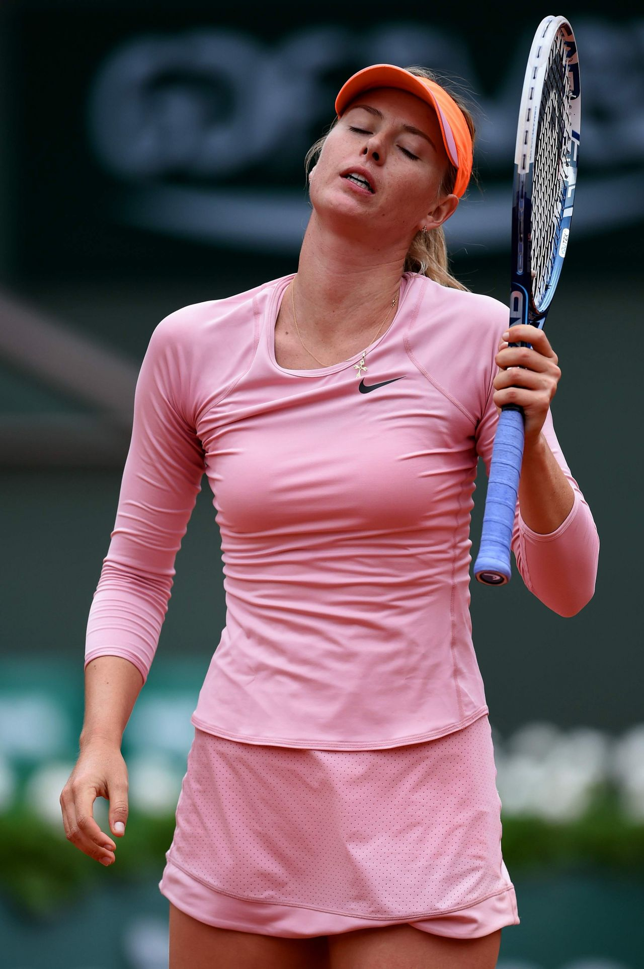 Maria Sharapova - 2014 French Open at Roland Garros - 2nd ...