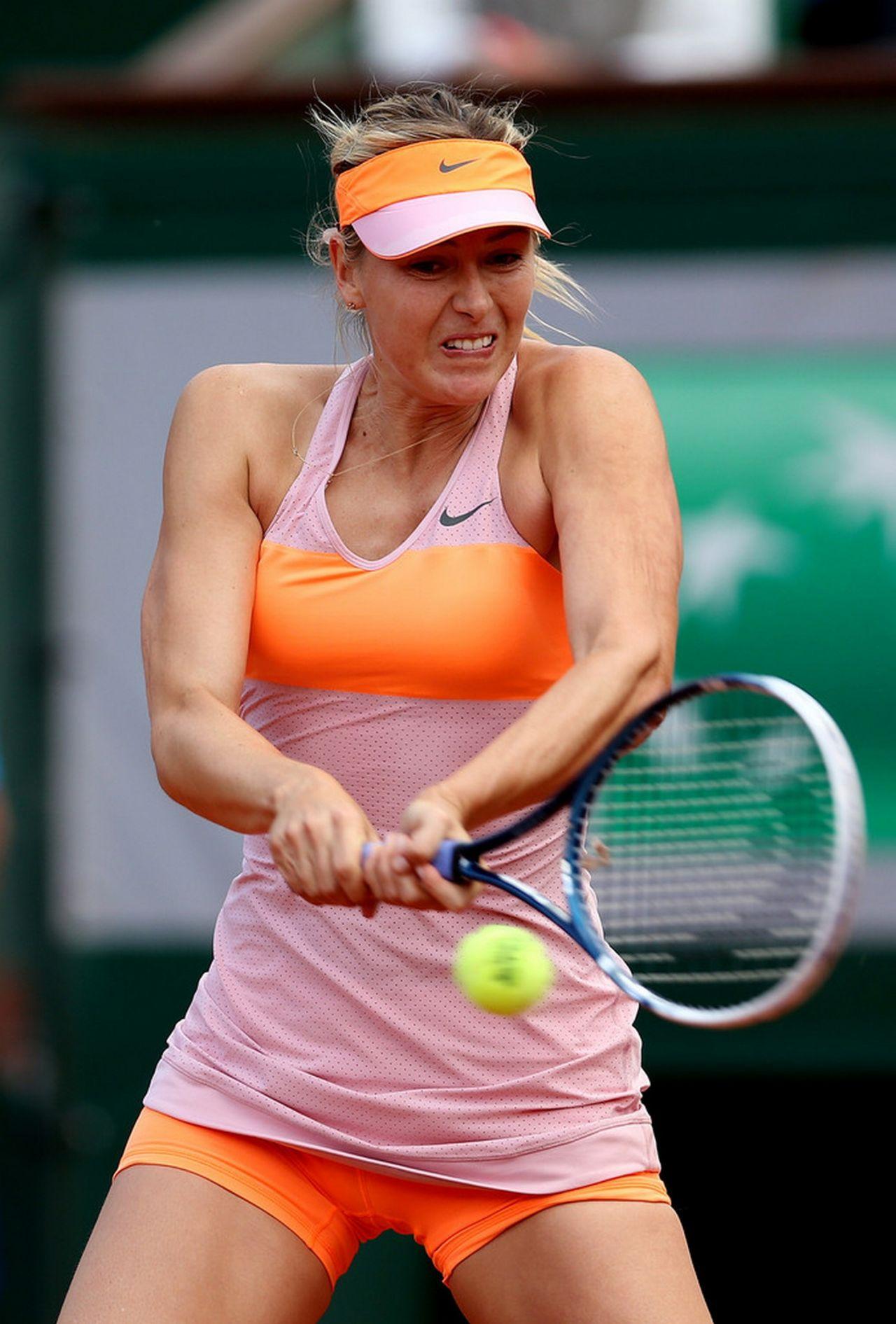 Maria Sharapova 2014 French Open At Roland Garros 3rd