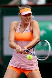 Maria Sharapova – 2014 French Open at Roland Garros – 3rd Round