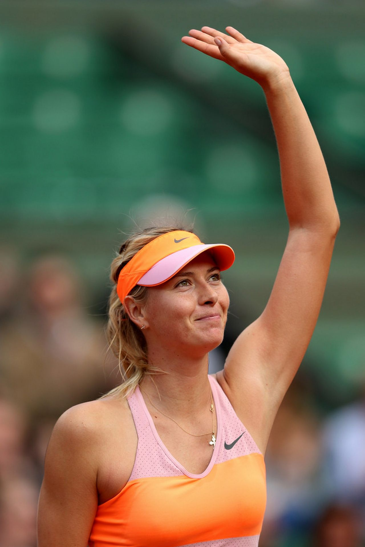 Maria Sharapova 2014 French Open At Roland Garros 3rd Round
