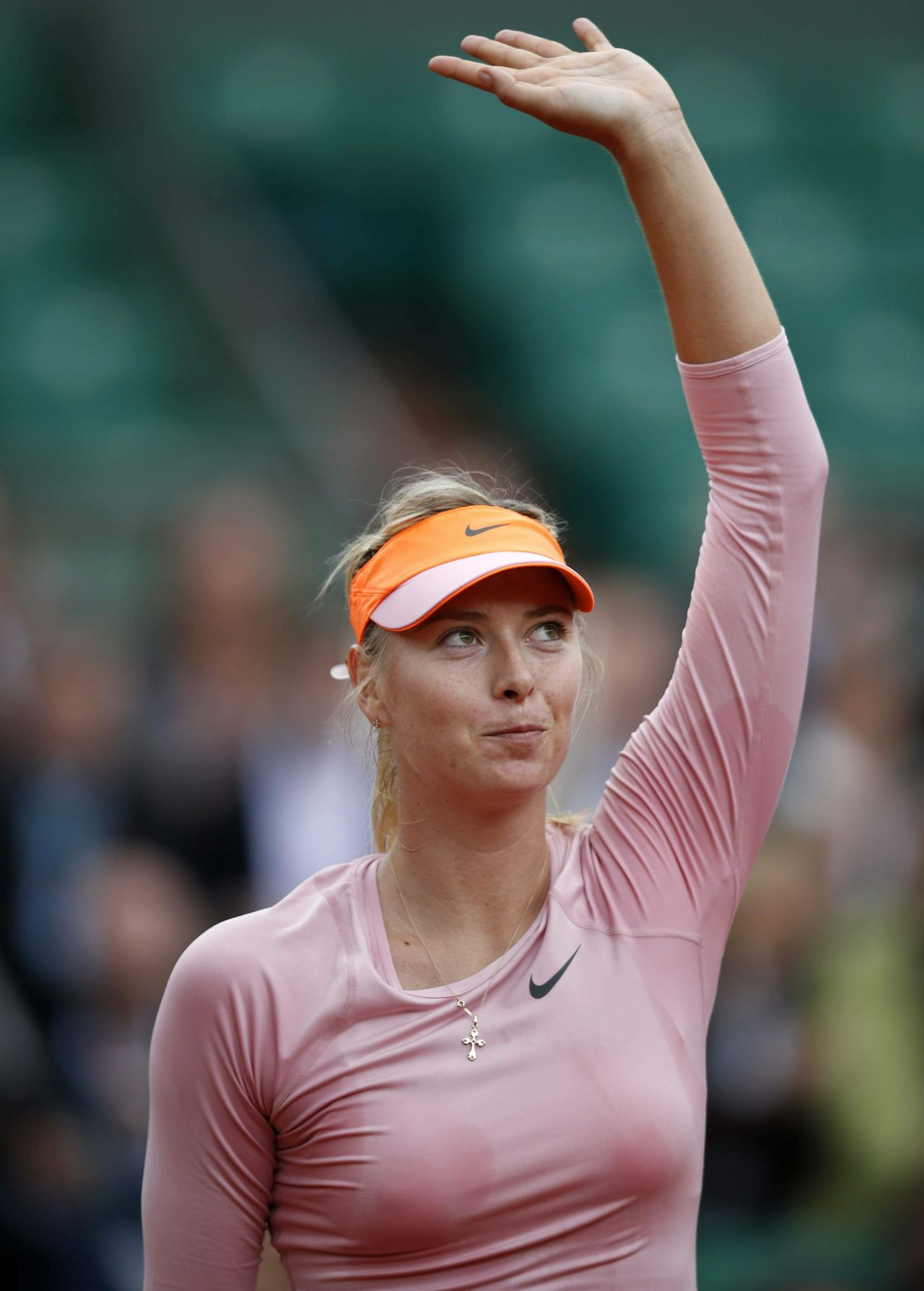 Maria Sharapova 2014 French Open At Roland Garros