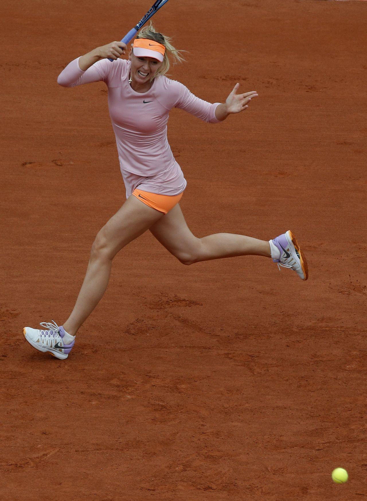 Maria Sharapova 2014 French Open At Roland Garros