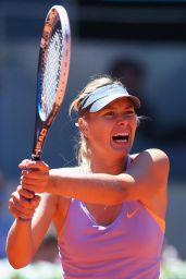 Maria Sharapova - Mutua Madrid Open 2014 - Day Two