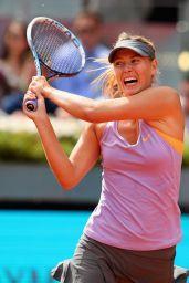 Maria Sharapova – Mutua Madrid Open 2014 – Final