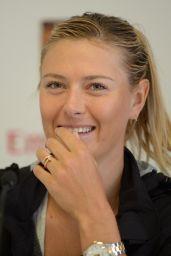 Maria Sharapova - Press Conference at Italian Open 2014 in Rome