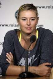 Maria Sharapova – Roland Garros 2014 – Press conference