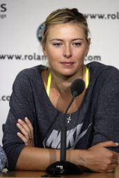 Maria Sharapova - Roland Garros 2014 - Press conference