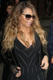 Mariah Carey in New York City -