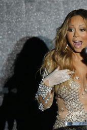 Mariah Carey Performs During the World Music Awards 2014