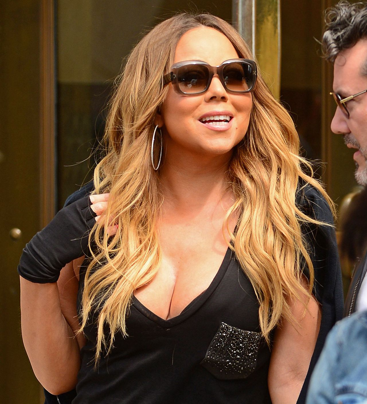 Mariah Carey Street Style – Out in New York City - May 2014