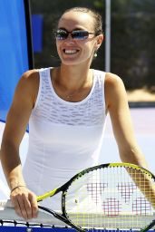 Martina Hingis Photoshoot - April 2014