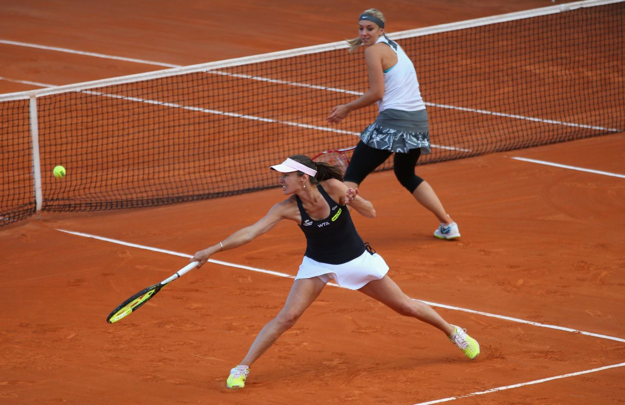Martina Hingis & Sabine Lisicki – Italian Open 2014 in Rome