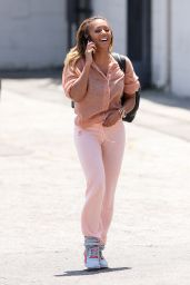 Melanie Brown Street Style - Recording Studio in Los Angeles - May 2014