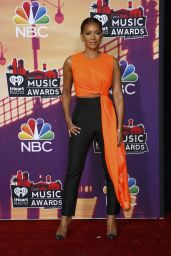Melanie Brown Wearing Roksanda Ilincic Jumpsuit – 2014 iHeartRadio Music Awards