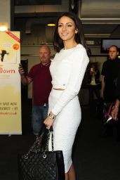 Michelle Keegan – out in London - May 2014
