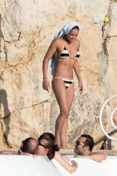 Michelle Rodriguez in a Bikini – Hotel Du Cap-Eden-Roc Pool in Antibes (France) – May 2014