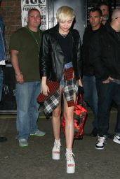 Miley Cyrus - Out in London - May 2014