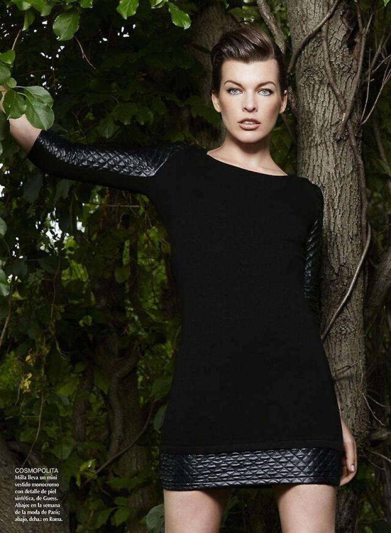 Milla Jovovich - Vogue Magazine (Mexico) 2014
