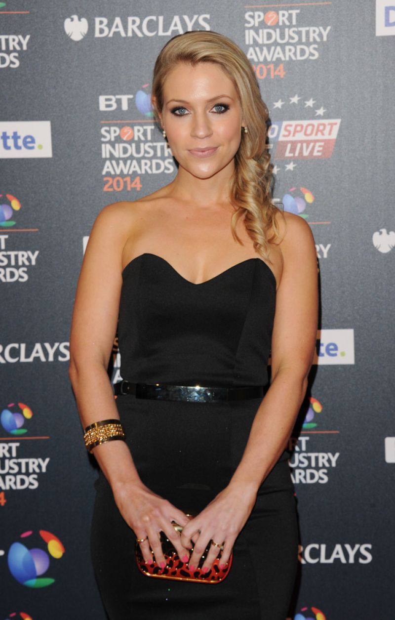 Millie Clode – 2014 BT Sport Industry Awards in London