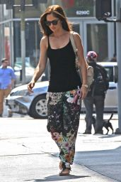 Minka Kelly - Out in LA - May 2014