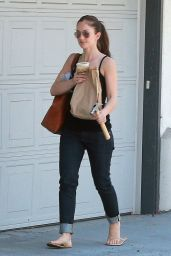 Minka Kelly - Out in Los Angeles - May 2014