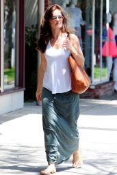 Minka Kelly Street Style - Out in Los Angeles - May 2014