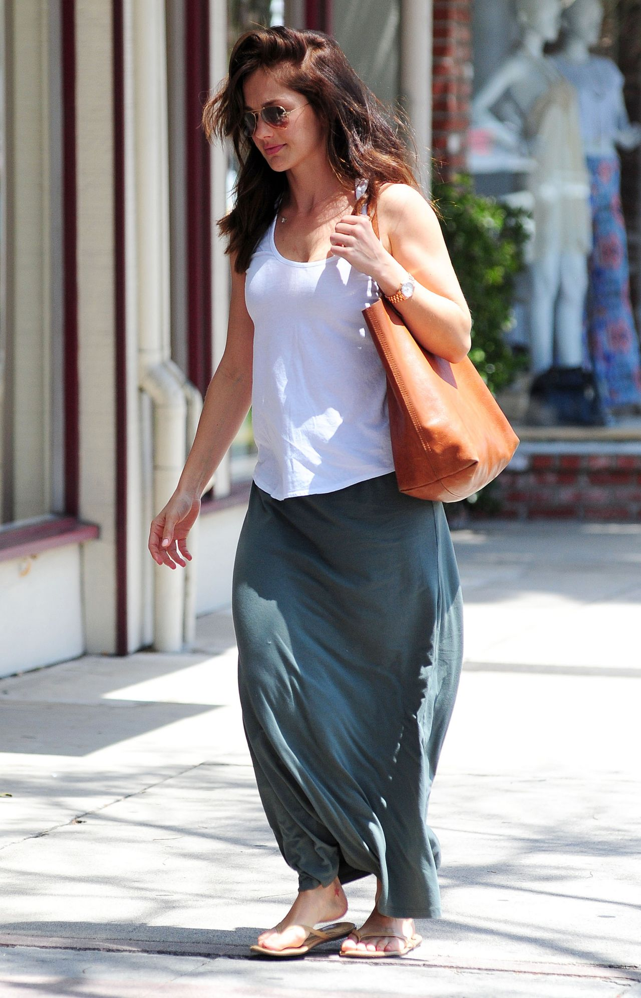 minka kelly street style out in los angeles may 2014