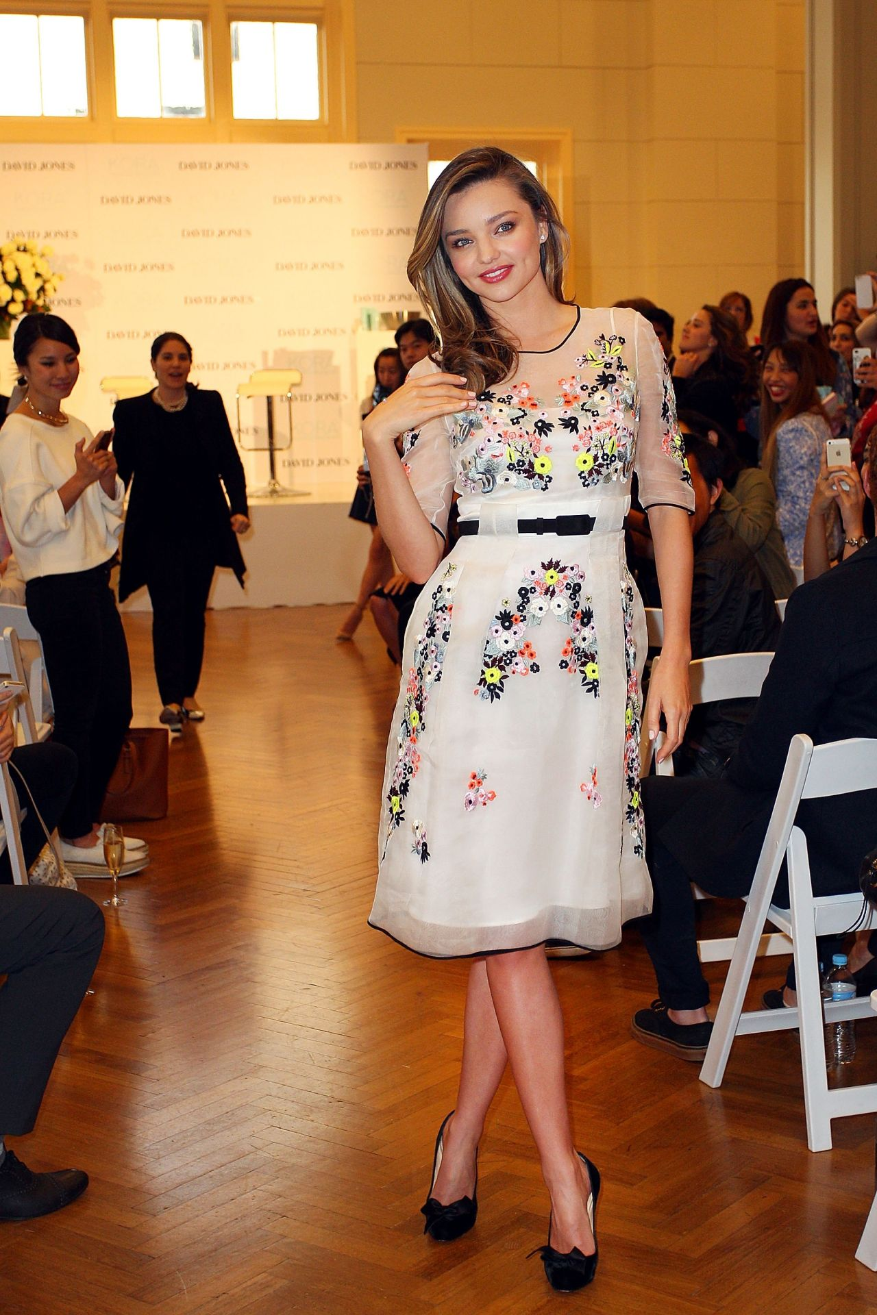 Miranda Kerr - Kora Organics Media Call - May 2014
