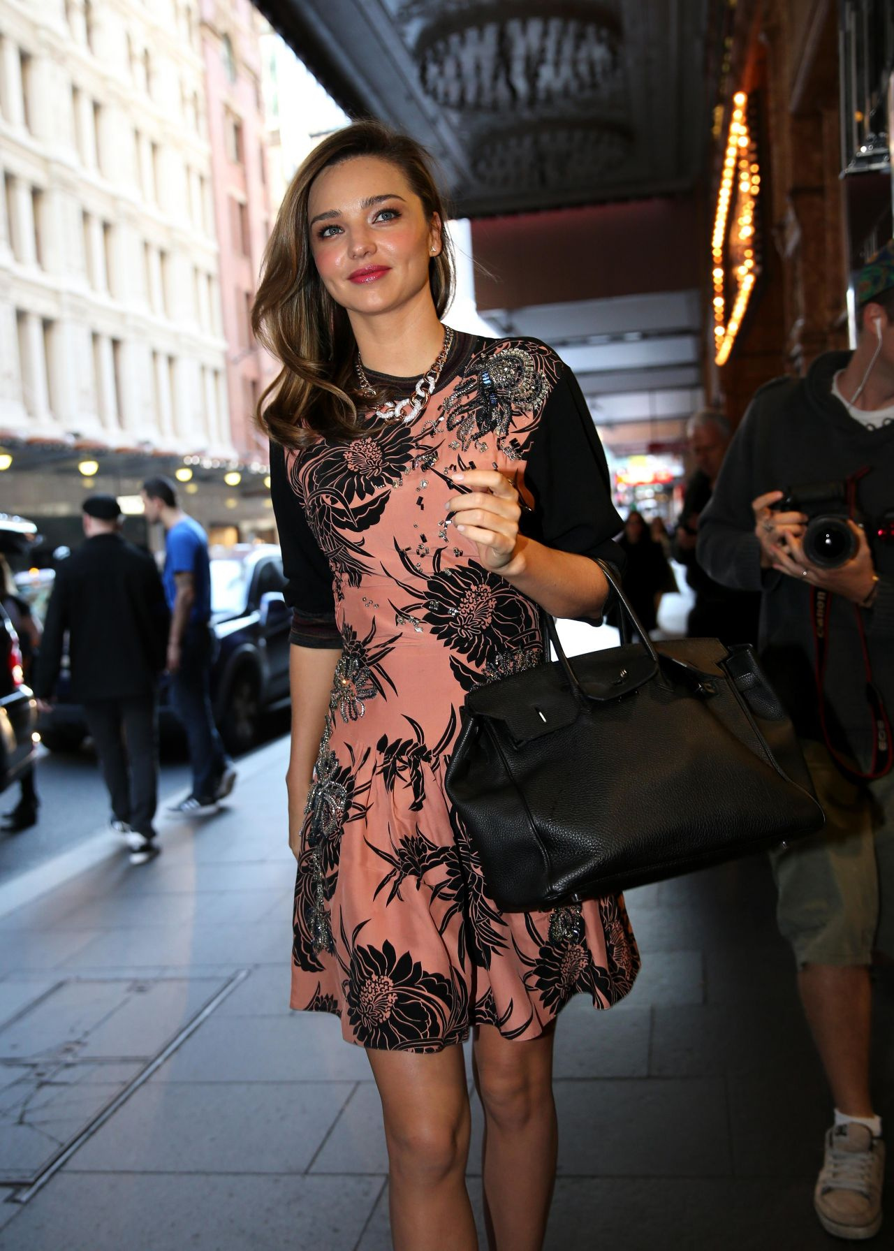 Miranda Kerr Wearing Prada - QT Hotel in Sydney, Australia, May 2014