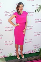 Miranda Kerr Wearing Victoria Beckham Dress - Royal Albert Pop-Up Store in Sydney, Australia - May 2014