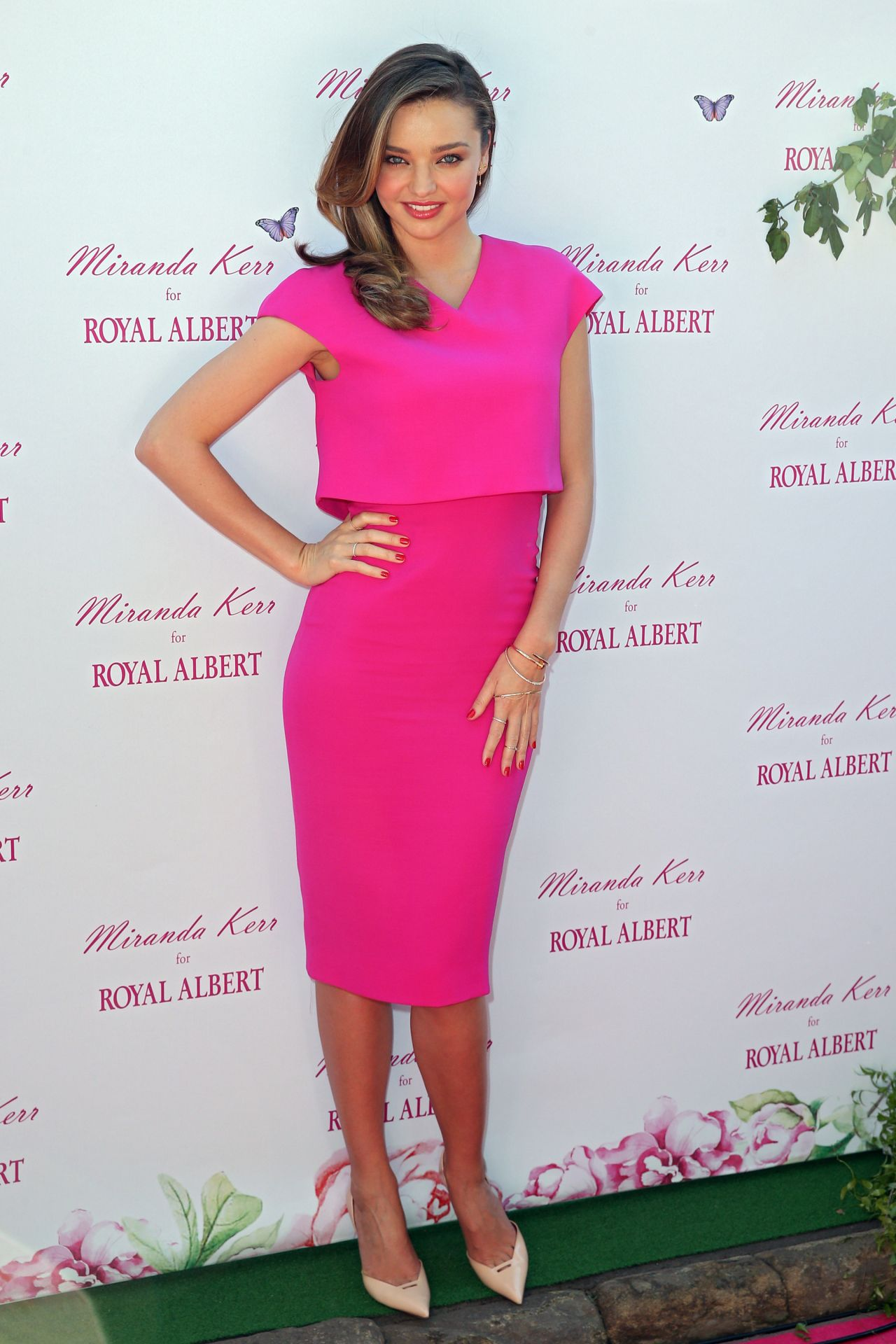 Miranda Kerr Wearing Victoria Beckham Dress Royal Albert
