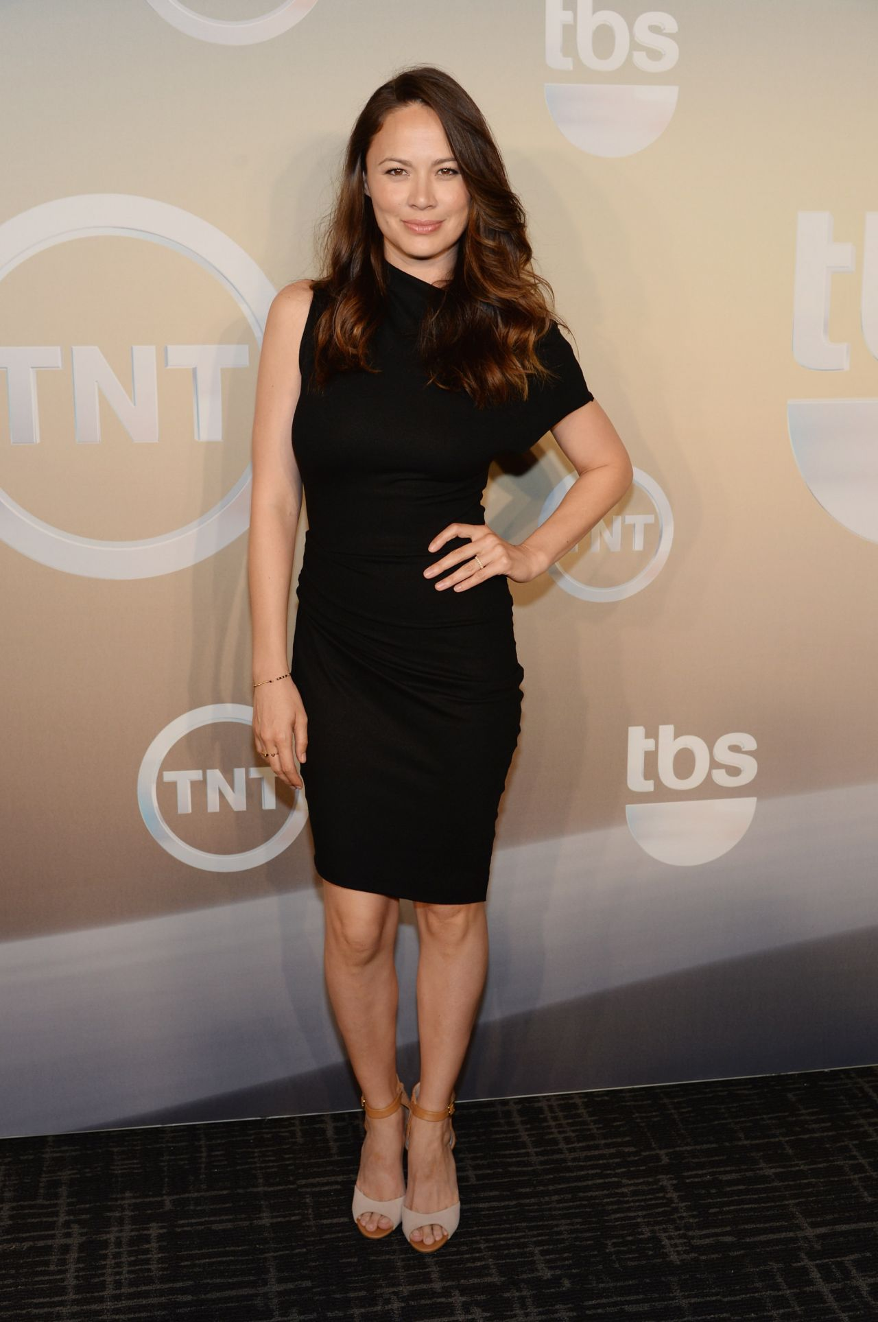 Moon Bloodgood - TBS / TNT Upfront 2014