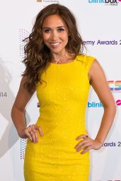 Myleene Klass at 2014 Radio Academy Awards in London
