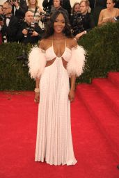 Naomi Campbell Wearing Givenchy Haute Couture – Met Costume Institute Gala 2014