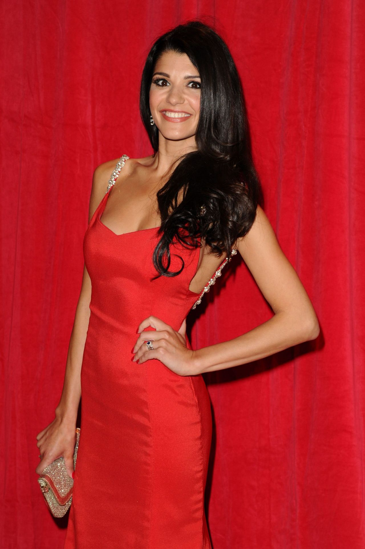 Natalie Anderson - 2014 British Soap Awards in London