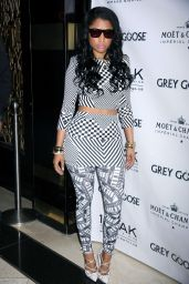 Nicki Minaj Hosts 1 OAK Nightclub Party - May 2014