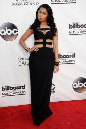 Nicki Minaj Wearing Alexander McQueen Dress - 2014 Billboard Music Awards in Las Vegas