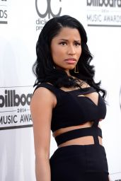 Nicki Minaj Wearing Alexander McQueen Dress - 2014 Billboard Music Awards in Las Vegas