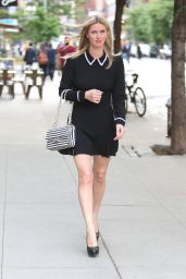 Nicky Hilton in Mini Dress - Out in East Village - May 2014