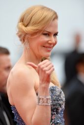 Nicole Kidman Wearing Armani Privé Gown – 'Grace of Monaco' Premiere at 2014 Cannes Film Festival