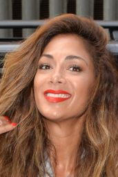 Nicole Scherzinger - Visits the Kiss FM Studio in London - May 2014
