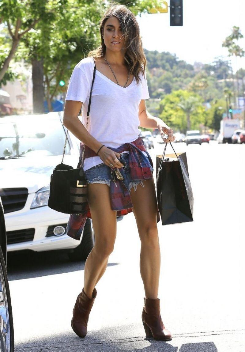 Nikki Reed - Leggy Candids  Shops In Studio City
