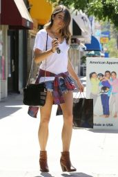 Nikki Reed - Leggy Candids, Shops in Studio City - May 2014