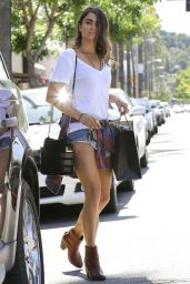 Nikki Reed - Leggy Candids, Shops in Studio City - May 2014
