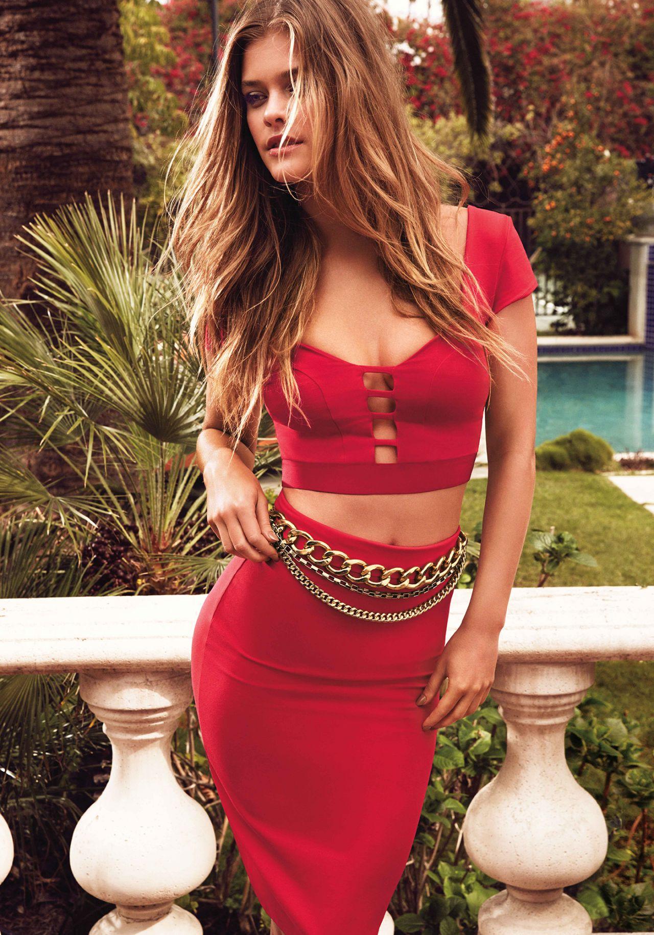 Nina Agdal Photoshoot Bebe Summer 2014