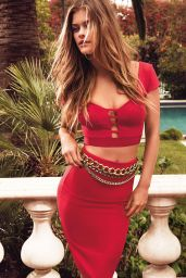 Nina Agdal Photoshoot - Bebe Summer 2014