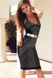 Nina Agdal Photoshoot - Bebe Summer 2014