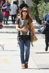Olivia Wilde Out in New York City - May 2014
