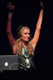 Paris Hilton - DJ Set at Echostage in Washington - May 2014