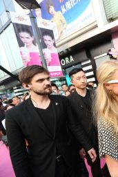 Paris Hilton in in Shanghai at the Launch of the New Millions of Milkshakes Store - May 2014